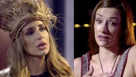 Encuentro entre Cristina Porta y Adara Molinero en Secret Story