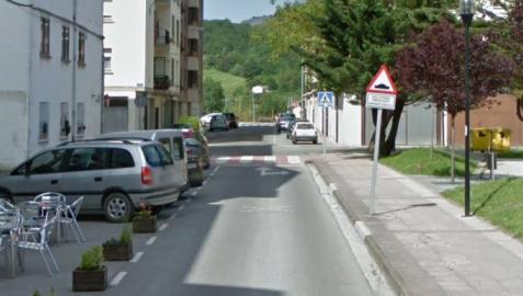 Calle Erkuden en Alsasua