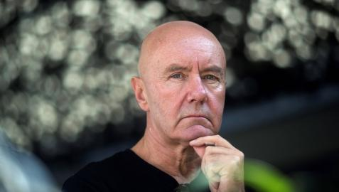 El autor escocés Irvine Welsh
