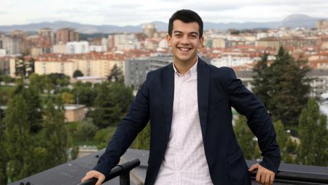 Alberto Alonso, pte Jóvenes Empresarios ( AJE)