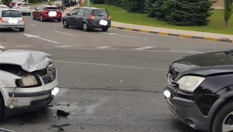 Uno de los accidentes atendidos por la Policía Municipal el fin de semana