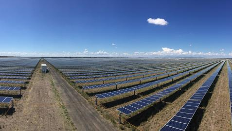 Parque solar fotovoltaico en Australia