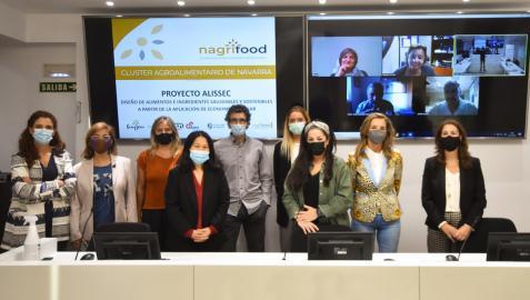 Nagrifood, la UN, la UPNA, Tutti Pasta, Grupo AN, Apex y Sanygran participan en el proyecto