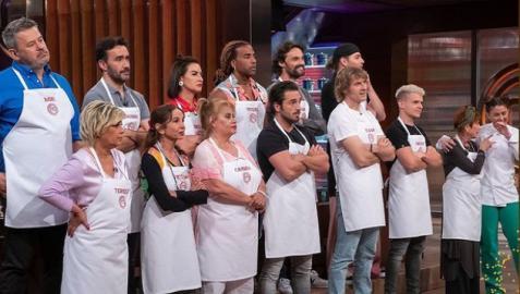 Participantes en el último programa de MasterChef Celebrity