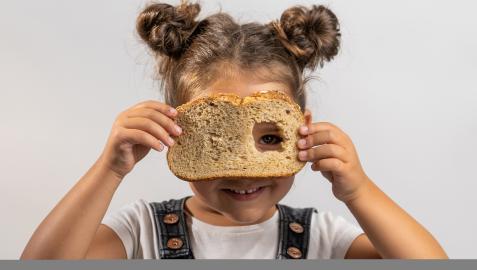 Imagen de la campaña #AlimentaLoQuePiensas