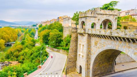 Bajada del Portal Nuevo en Pamplona