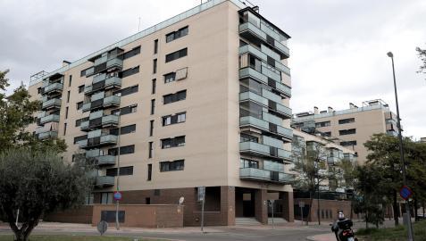 Bloque de viviendas en Madrid