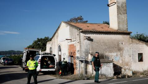 El cuerpo de Marta Calvo se ha buscado en un pozo ubicado en una casa abandonada en Senyera,