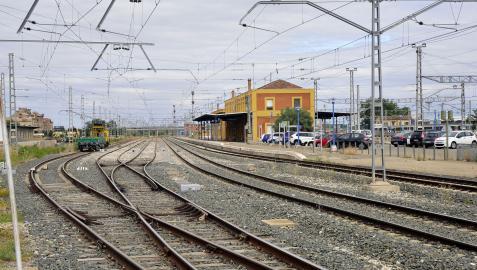 Estación de tren de Castejón