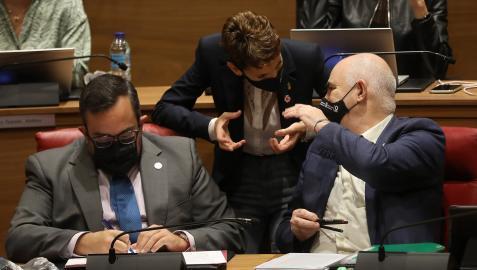 Remírez Aierdi Chivite Parlamento