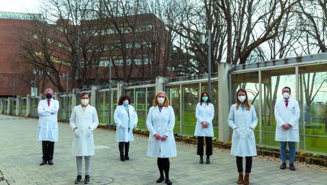 Investigadores del Centro de Investigación en Nutrición de la UN que participan en el proyecto Prediabetcare