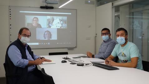 Carlos Centeno Cortés, Miguel Sánchez Cárdenas y Eduardo Garralda Domezain, miembros del Observatorio Global de Cuidados Paliativos ATLANTES de la Universidad de Navarra