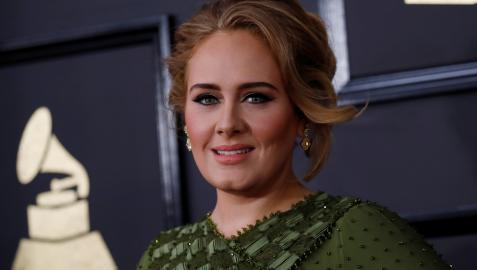 Adele, los Grammy Awards in Los Angeles.