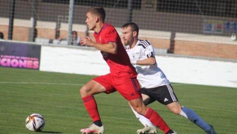 Osasuna Promesas no tuvo premio a su insistencia, pero regresa a Pamplona con un punto