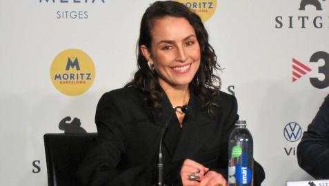 La actriz Noomi Rapace, en el Festival de cine de Sitges 2021  EUROPA PRESS  09/10/2021