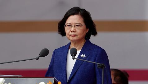 Tsai Ing, presidenta de Taiwán