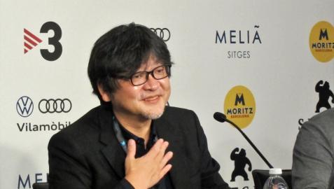 El director Mamoru Hosoda, en el Festival de Cine de Sitges  EUROPA PRESS  10/10/2021