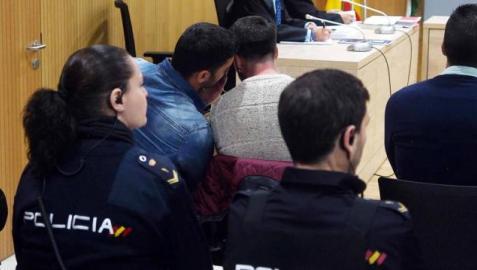 Un momento del juicio contra los miembros de 'La Manada'