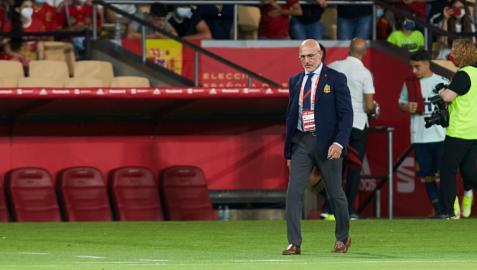 Luis de la Fuente dirige a la sub-21 contra Eslovaquia en el estado de La Cartuja