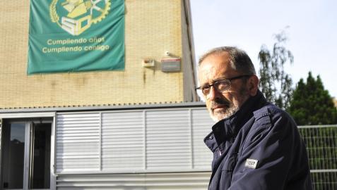 Luis Basarte y Mª Jesús Ollobarren en Peralta