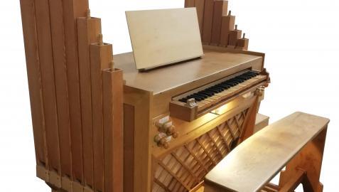 El nuevo órgano positivo del monasterio de Fitero