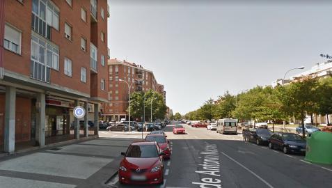 Vista de la calle Antonio Machado de Vitoria