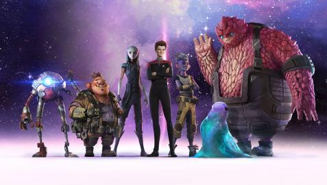 'Star Trek: Prodigy', primera serie de esta saga dirigida al público infantil