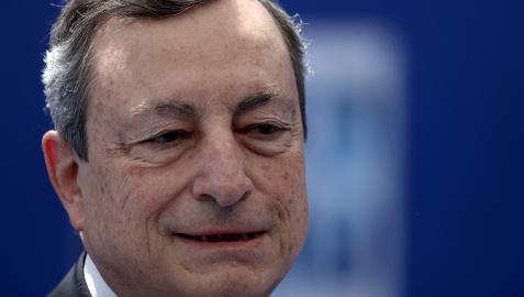 Mario Draghi, primer ministro italiano