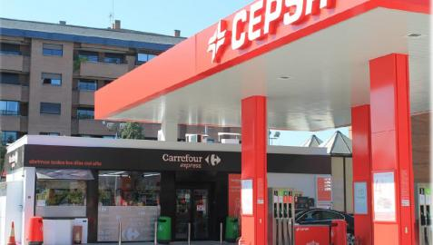 Un supermercado Carrefour Express