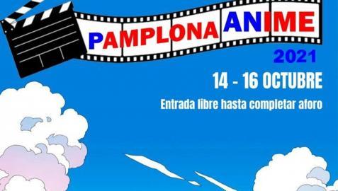 Pamplona Anime 2021, del 14 al 16 de octubre en la Casa de la Juventud de la capital navarra
