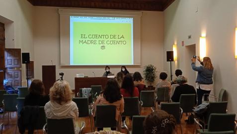 Un momento de las V Jornadas Monomarentales celebradas en Estella