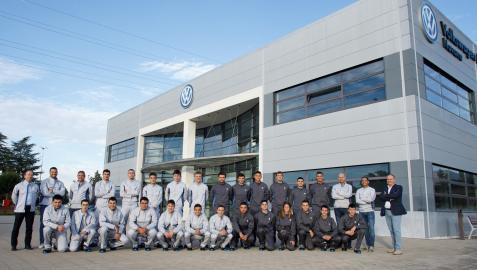 Aprendices Volkswagen Navarra